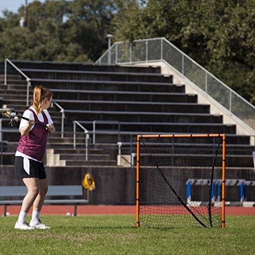 Champion Sports Backyard Lacrosse Goal: 6x6 Boys & Girls Official Size Goal with Net