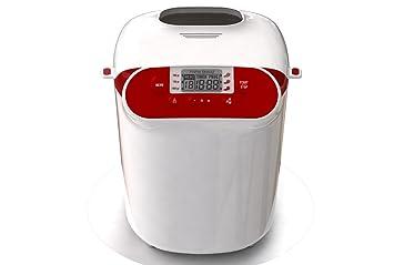 Moulinex OW3101 700W Rojo, Color blanco - Panificadora (Rojo, Blanco, 1 kg