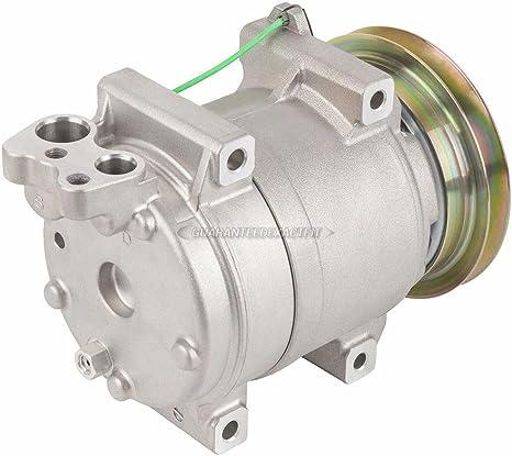 AC Compressor /& A//C Clutch For Isuzu NPR 2004-2010 Replaces Diesel Kiki DKS15D