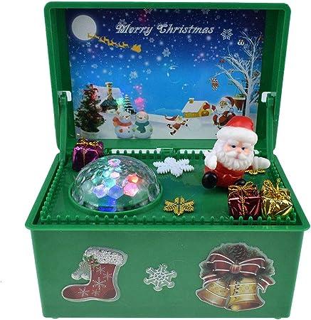 Père Noël Boîte à Musique pour Envoyer Un Cadeau d'anniversaire