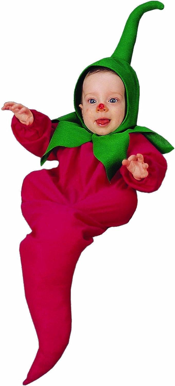 The Original Little Chili Pepper Newborn Baby Costume