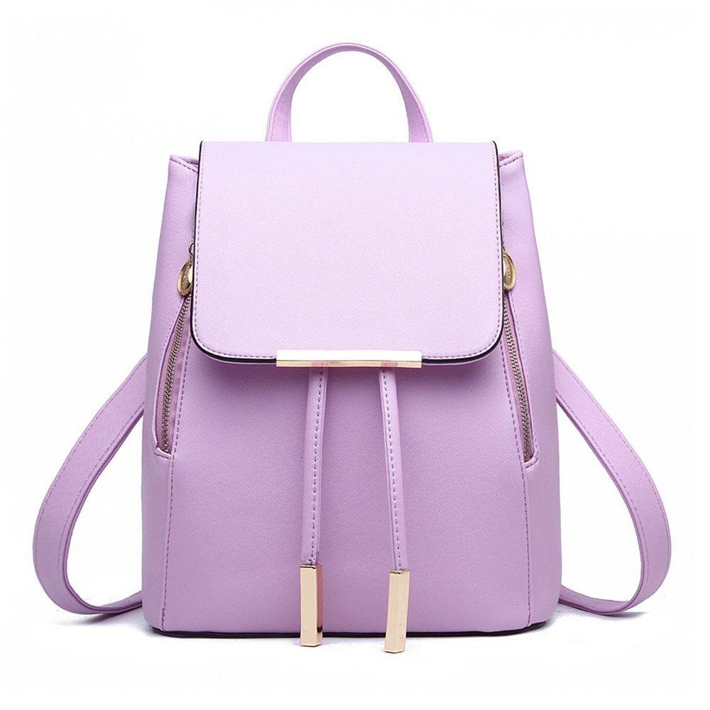 Jonon Women's Modern Design Deluxe Fashion Backpacks (L, PURPLE)
