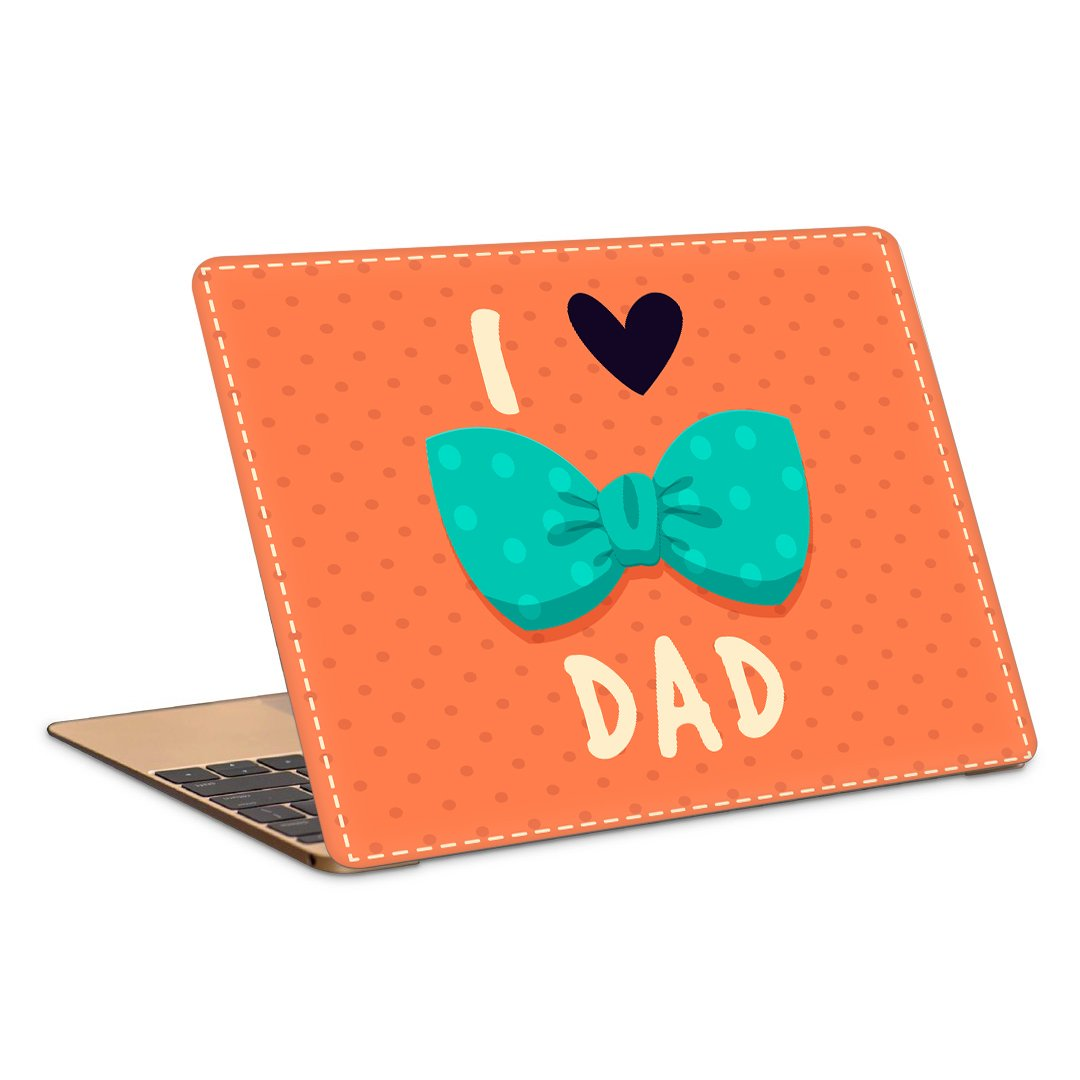 Postergully 17 Laptop Skin I Love My Dad Buy Postergully 17