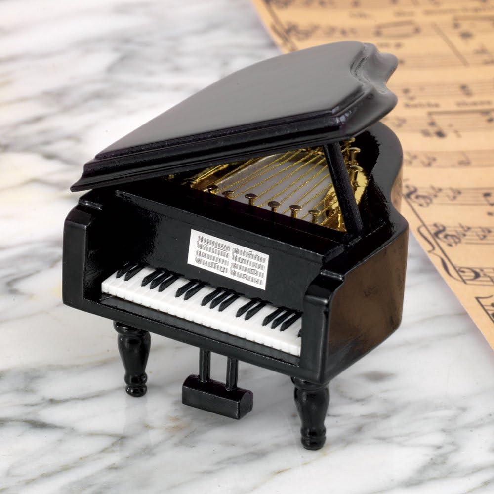 16.5 x 19 x 12 My Music Gifts Money Box Piano Black Ceramic Multi-Colour