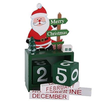 Weihnachtskalender Büro.Weihnachtskalender Für Büro Zu Hause Kalender Aus Holz Klein