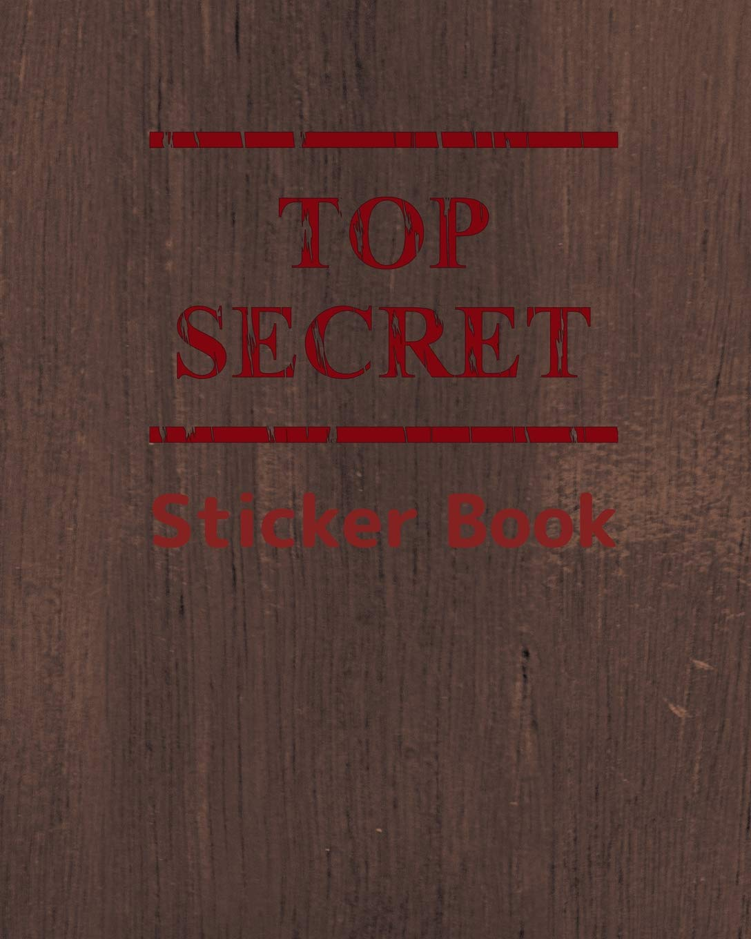 """Read Online Top Secret Sticker Book: Collect All My Love Stickers, Large Size 8"""" x 10"""", 60 pages (Volume 5) ebook"""