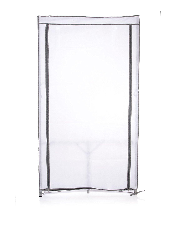 Compactor Metal Frame Fast Portable Wardrobe 90 x 46 x 160cm, Dark Grey C.I.E. Europe B004I8VJ2I RAN4388