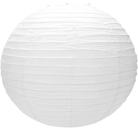 48,3 cm color blanco dise/ño irregular Lighting Web Pantalla de papel para l/ámpara