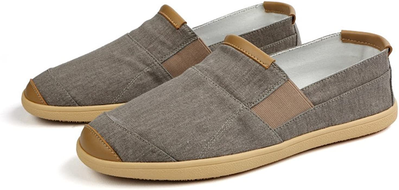 Los hombres de verano Zapatos casuales de lujo Penny mocasines hombres alpargatas moda Slip on Canvas Shoes hombre