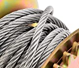 CNlinkco-600lbs-Hand-Winch-Hand-Crank-Strap-Gear-Winch-ATV-Boat-Trailer-Heavy-Duty