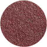 3M Scotch-Brite SC-DH Medium Grit, 5'' x NH Aluminum Oxide Surface Conditioning Disc Maroon