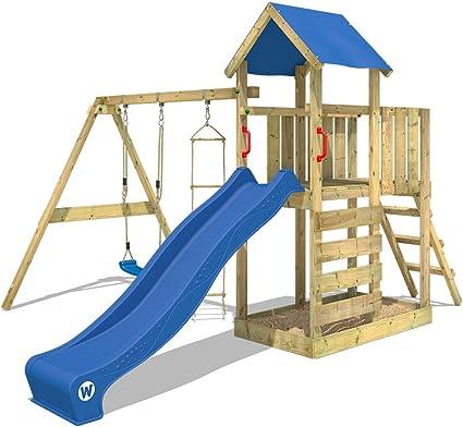 WICKEY Parco giochi in legno FastFlyer Giochi da giardino con