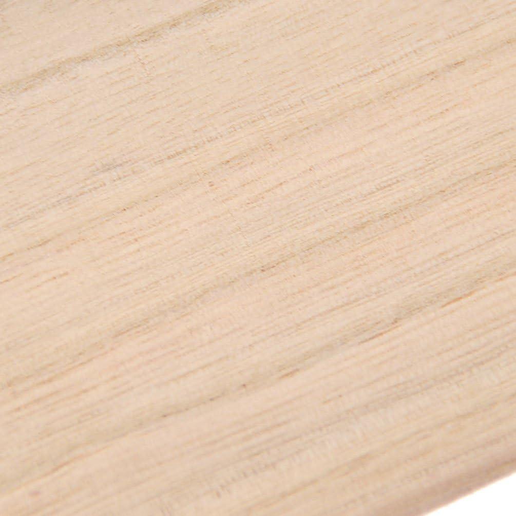 hongma 10pcs placas de madera 1//1.5/mm para manualidades Avi/ón Modelo Puzzle artesan/ía DIY 200x100x1mm Holzfarbe