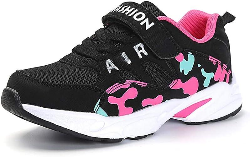HSNA Zapatillas Deporte Niña Zapatos de Gimnasia Niña pequeñas Running Zapatos Deportivos Aire(28-39 EU): Amazon.es: Zapatos y complementos