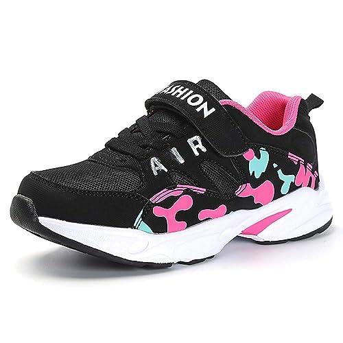 9b186e3a745 HSNA Zapatillas Deporte Niña Zapatos de Gimnasia Niña pequeñas Running  Zapatos Deportivos Aire(28-39 EU): Amazon.es: Zapatos y complementos