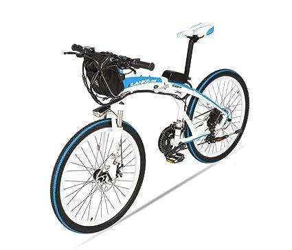 JPFCAK, 26 Pulgadas, Bicicleta Eléctrica, Plegable, Bicicleta De Montaña, Coche Eléctrico