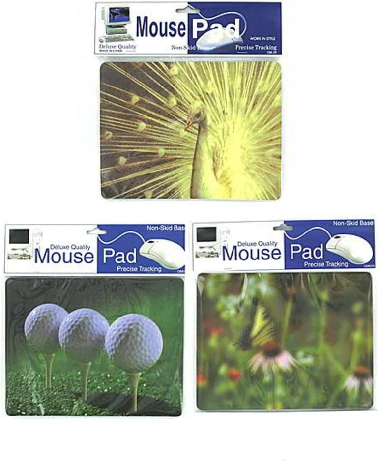 Case Pack 60 Assorted decorative mouse pads
