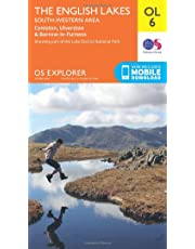 Ordnance Survey Explorer OL6 The English Lakes - South Western area With Digital Version
