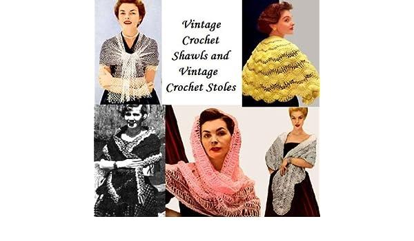 Amazon.com: Vintage chales de ganchillo y Vintage Crochet estolas (Spanish Edition) eBook: Unknown: Kindle Store