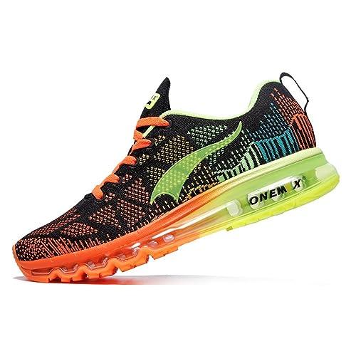 646a102d255b Onemix Uomo Donna Air Scarpe Sportive Music Rhythm 1st Generation Traspirante  Sneakers Unisex Adulto: Amazon.it: Scarpe e borse