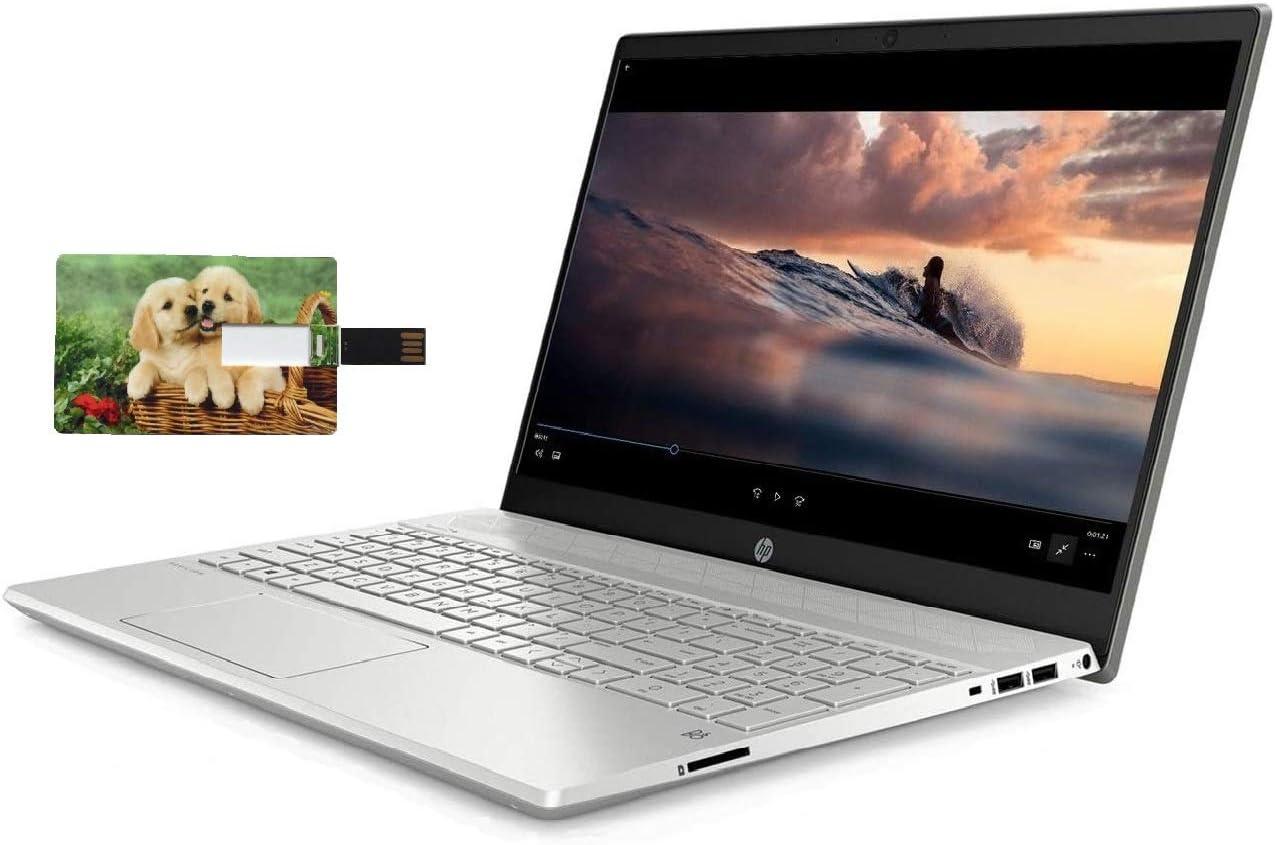 HP Pavilion 15 Business Laptop Computer, 10th Gen Intel Quad Core i5-1035G1, 15.6
