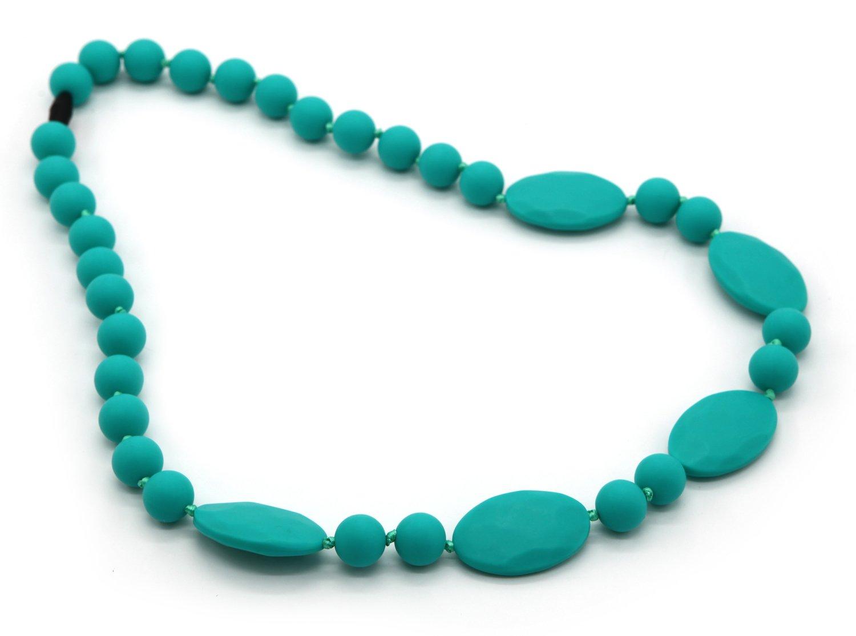 Deeyee Baby Teething Nursing Necklace Jewelry - BPA Free and FDA Approved - Green by Deeyee   B01DLZU9SI