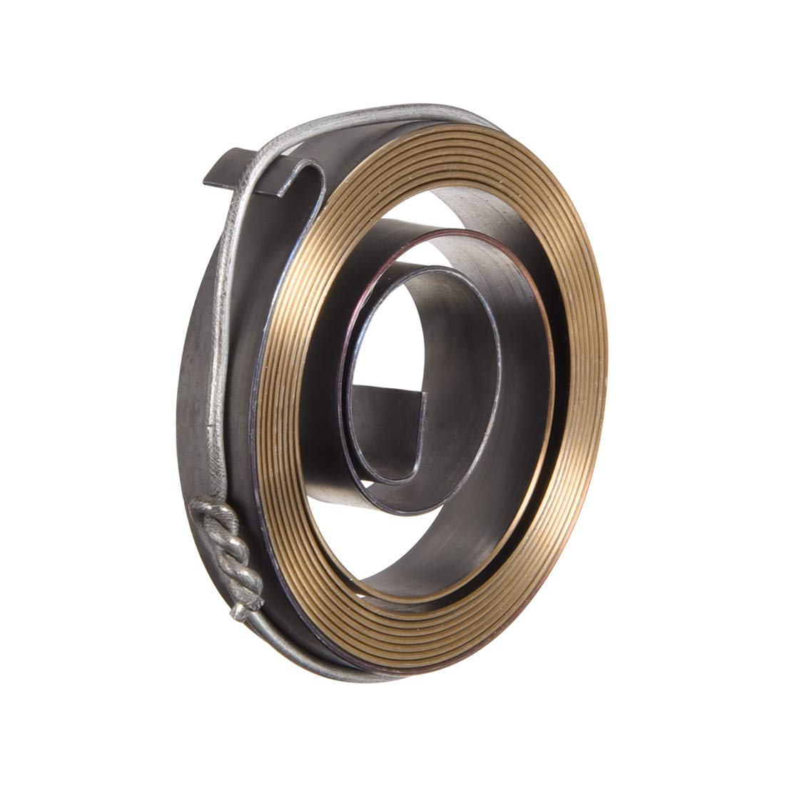 Quill Spring Feed Return Coil Spring Assembly 35 x 6 x 0.5mm 3PCS sourcing map Drill Press Return Spring 2.2Ft Long