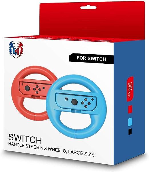 GH Switch Volante para niños, Mario Kart 8 Deluxe Racing Wheel para Nintendo Joy con controlador: Amazon.es: Electrónica