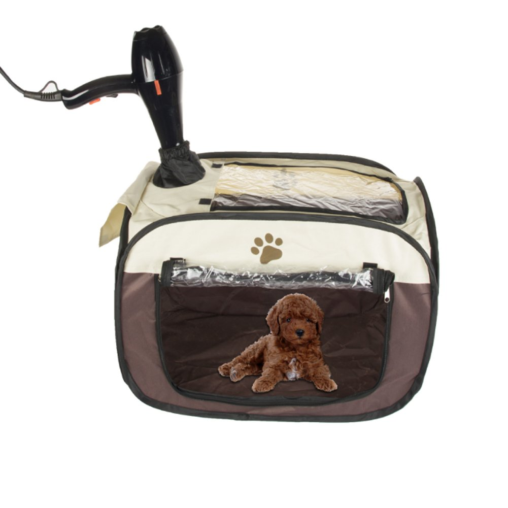 Pet Hair Dryer Hands-free Dryer Clean Grooming House Bag after Bath for Small Cat Dog Rabbit Small Pet SiDong Tech