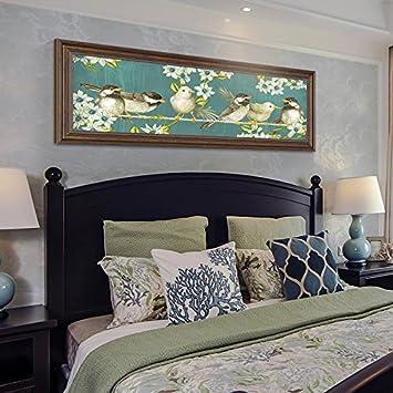 Patined Amerikanische Schlafzimmer Bett Dekorative Malerei Gemälde Von  Modernen Wohnzimmer Sofa Hintergrund Warmen Klassischen Wandmalereien,