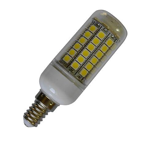 12 piezas E14 8 W LED tipo mazorca, 69 SMD 5050 LED de maíz bombillas de ...