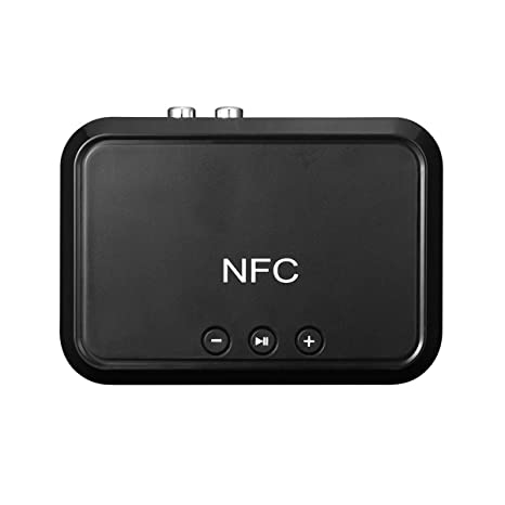 Bluetooth Wireless NFC USB Stereo Audio Music AUX 3.5mm Speaker Receiver Adapter