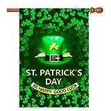 st patricks outdoor flags - St Patricks Day Garden Flag 28
