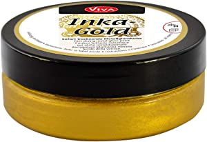 Viva Decor 2.7-Ounce Inka Gold Elegant Metal Finish with Beeswax, Old Gold