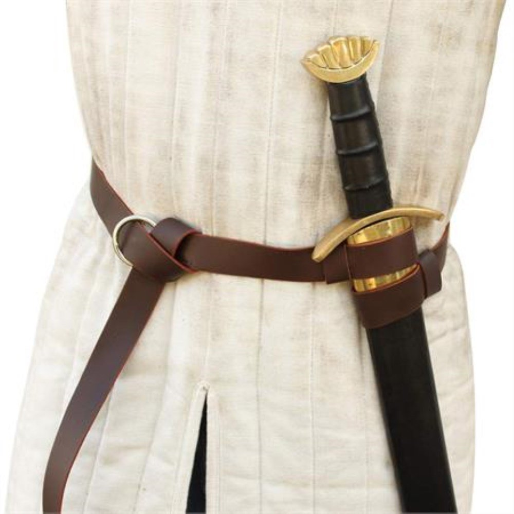 Tradewinds Merchant's Leather Double Strap Sword Belt by General Edge (Image #3)