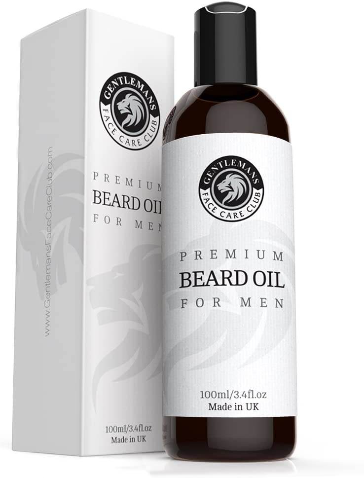 Beard Oil 100ml - Extra Large Bottle - Premium Beard Conditioning Oil For Men