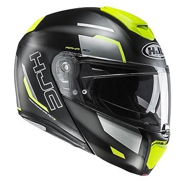 Amazon.es: HJC Helmets Casco Moto Hjc Rpha 90 Rabrigo Fluorescent (L, Negro)
