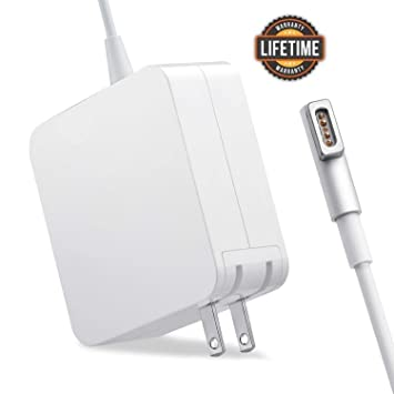 60L 60W Magsafe Power Adapter Magnetic L-Tip Connector Charger for Mac Book and 13-inch Mac Book Pro Before Mid 2012 Models MacBook Pro Charger