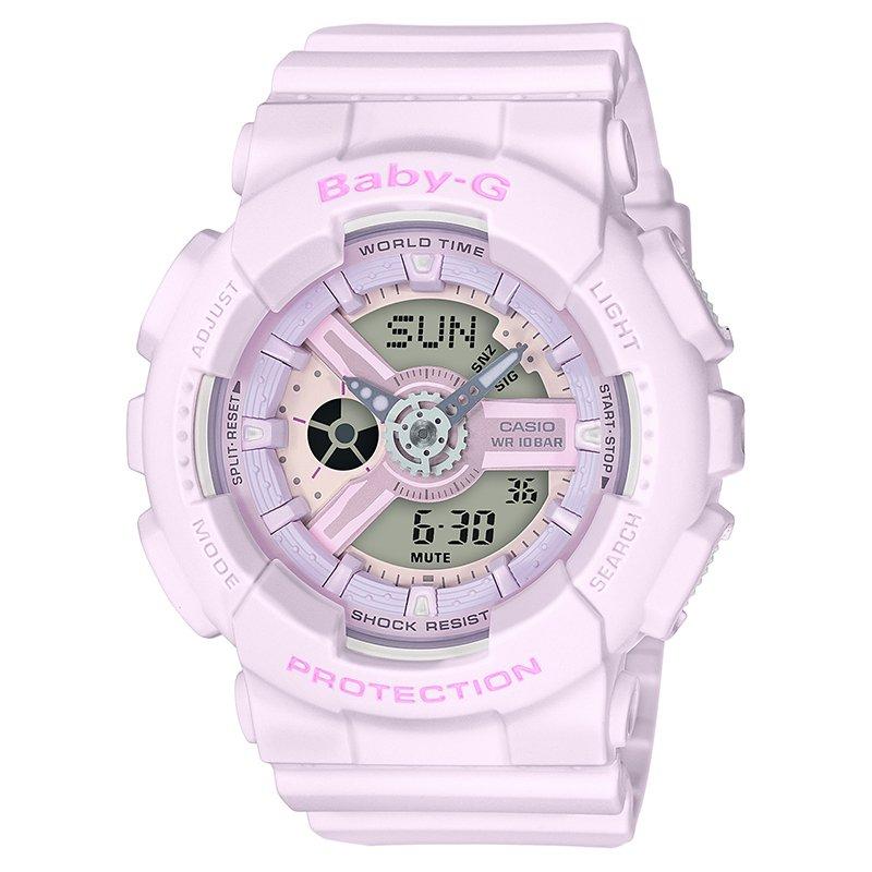 Casio Baby-G G-Shock Series Resin Women's Watch (Pink) BA110-4A2