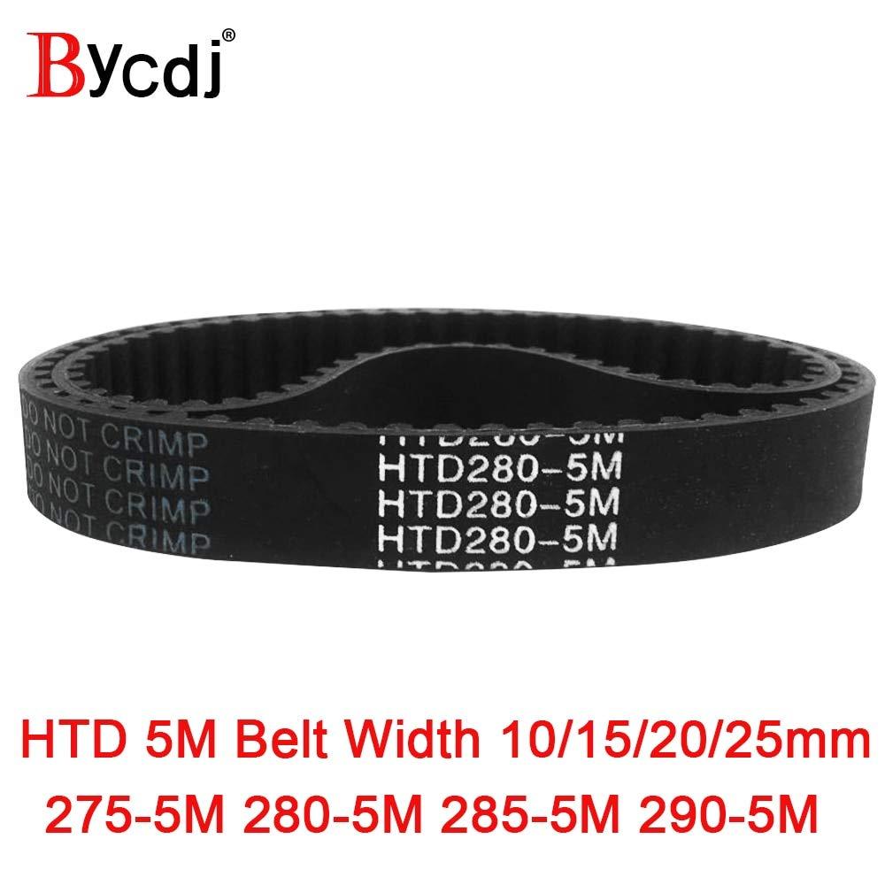 S5M-225 S5M-255 S5M-270 S5M-285 S5M-295 Rubber Timing Belt 5mm Pitch 10mm Width