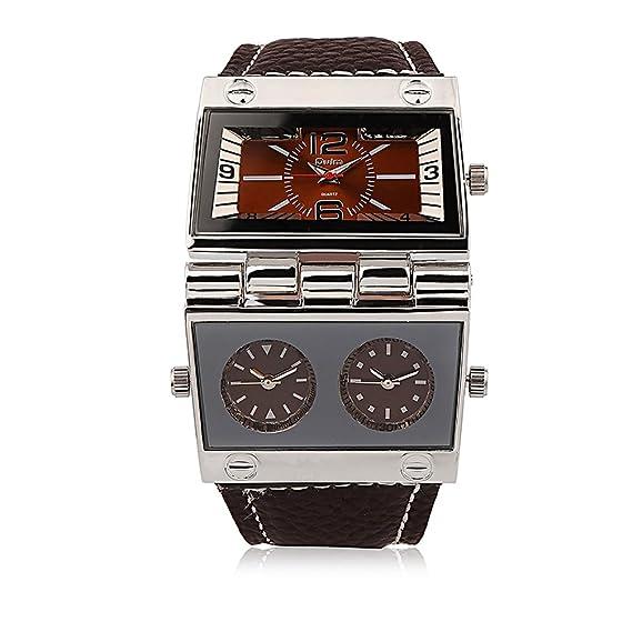Amazon Com Men S Unique Military Automatic Watches Multi Time Zone