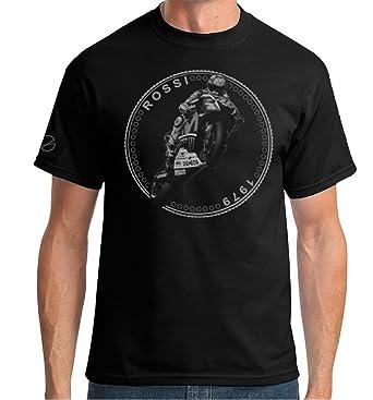 Valentino Rossi Moto Gp T Shirt Coin Design By Vkg Amazon De