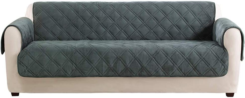 SurefitTriple Protection Furniture Cover, Sofa, Teal