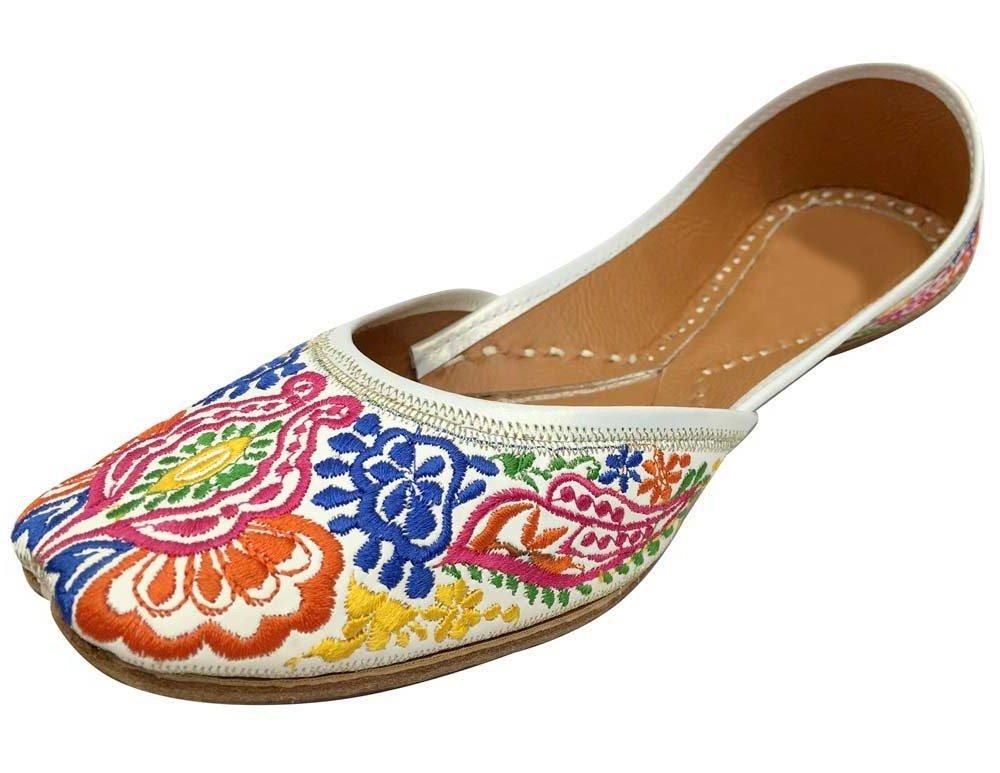 Step n Style Indian Punjabi Juttis Women Ladies Boho Mojari Khussa Shoes Saree Ethnic Shoes