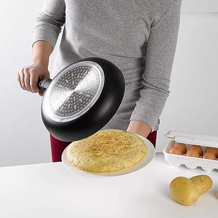 Metaltex 73401080 Gira Tortillas 26cm con Pomo, PP