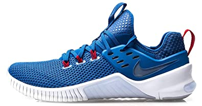 acd564dd05a41 Nike Men's Free X Metcon Americana Training Shoes (9, Blue/White/Red)