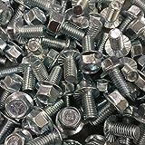5 16 hex head bolt - (150) Serrated Flange 3/8-16 x 3/4 Grade 5 IHW Hex Bolt Cap Screw Zinc
