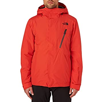 The North Face North Face W Descendit Jacket Chaqueta, Hombre, Rojo (Centennial Red