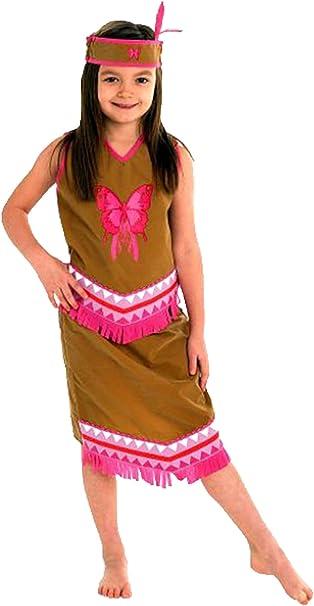 erdbeerloft – Niña Carnaval indios indios niña Pocahontas Disfraz ...
