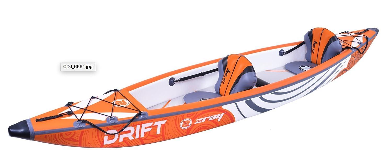 Zray- Drift Kayak 6920388638845 Naranja, Talla única: Amazon.es ...